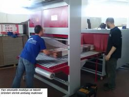 45x145 Shrink Ambalaj Paketleme Makinası