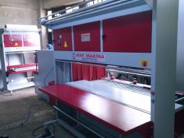 Side Cutting Parquet and Fabric Rolls Shrink Packaging Machine