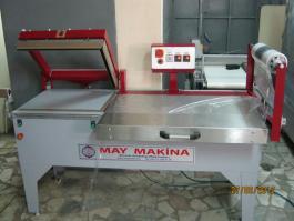 Yarı Otomatik L Kesim OPP Polietilen Shrink Makinası